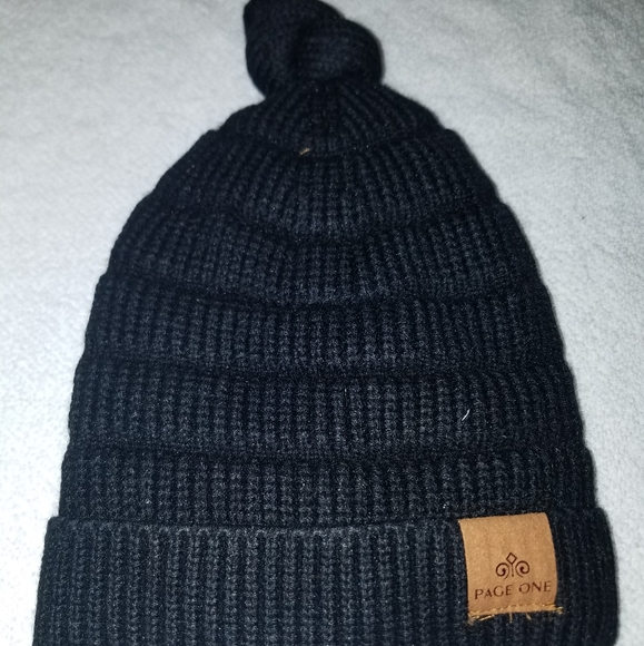 Other - NIP Page one boys/kids winter cap/beanie